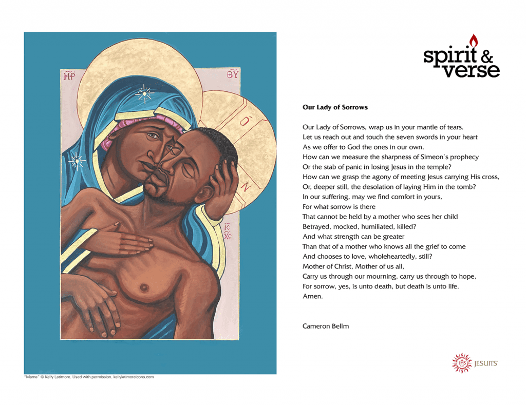Our Lady of Sorrows prayer