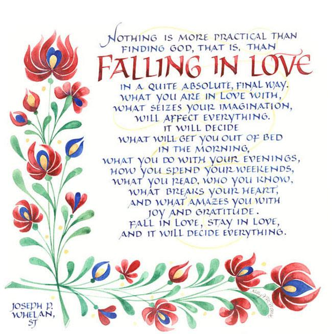 Love in that falling 16 Signs